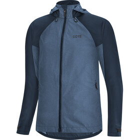 GORE WEAR C5 Gore-Tex Trail Kapuzenjacke Damen orbit blue